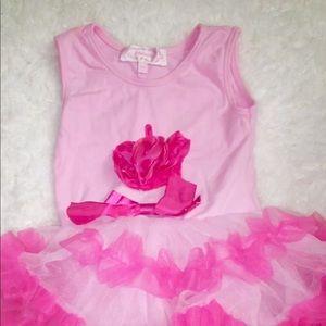 Popatu Dresses - Popatu tutu infants dress